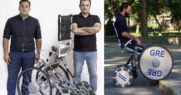 Δύο Έλληνες δημιούργησαν το αμαξίδιο που αλλάζει τη ζωή των ανθρώπων με αναπηρία