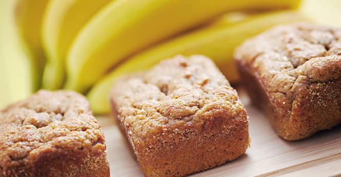 Ψωμί με μπανάνες (babana bread)